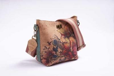 Hobo-Bag-Schultertasche Flower
