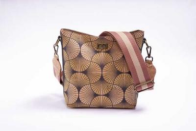 Hobo-Bag-Schultertasche Natur