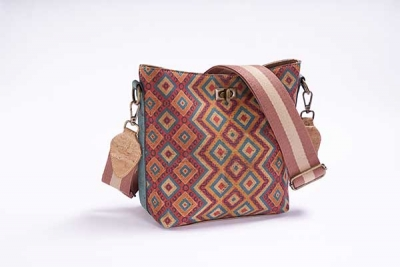 Hobo-Bag-Schultertasche Quadro
