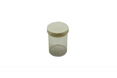 Filzgleiter rund für Stuhlbeine hell 15mm
