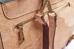 Bowling-Bag-Handtasche Natur
